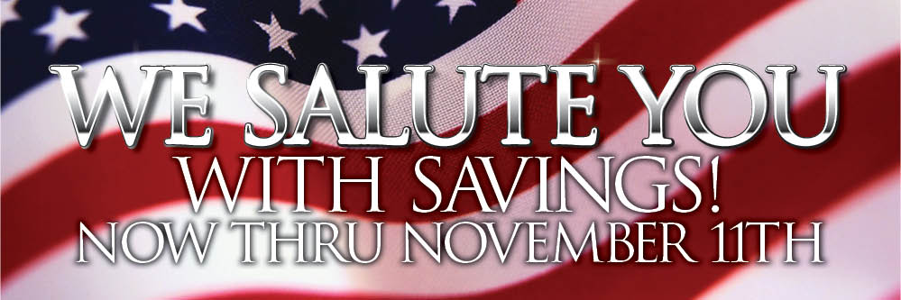 Veteran's Day Savings at Planet Ford in Humble