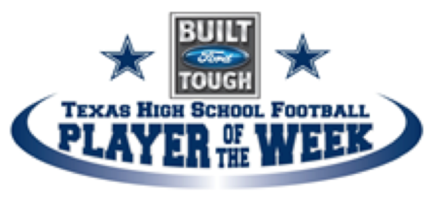 Built Ford Tough Football Player of Week