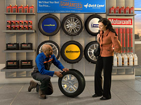 Do you know when it's time to replace your tires? Quicklane experts are here to help!