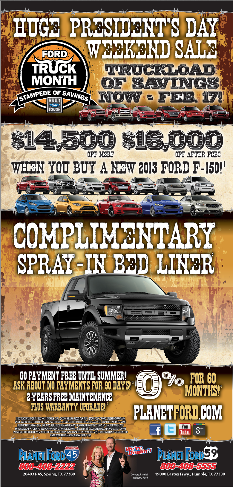 Ford President Day Sale Houston