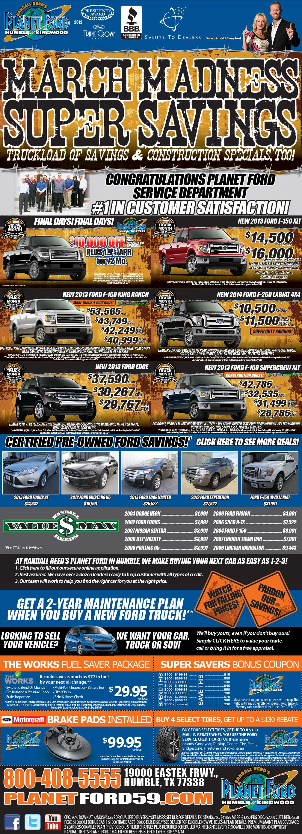 PLANET-FORD-HUMBLEmarch madness savings