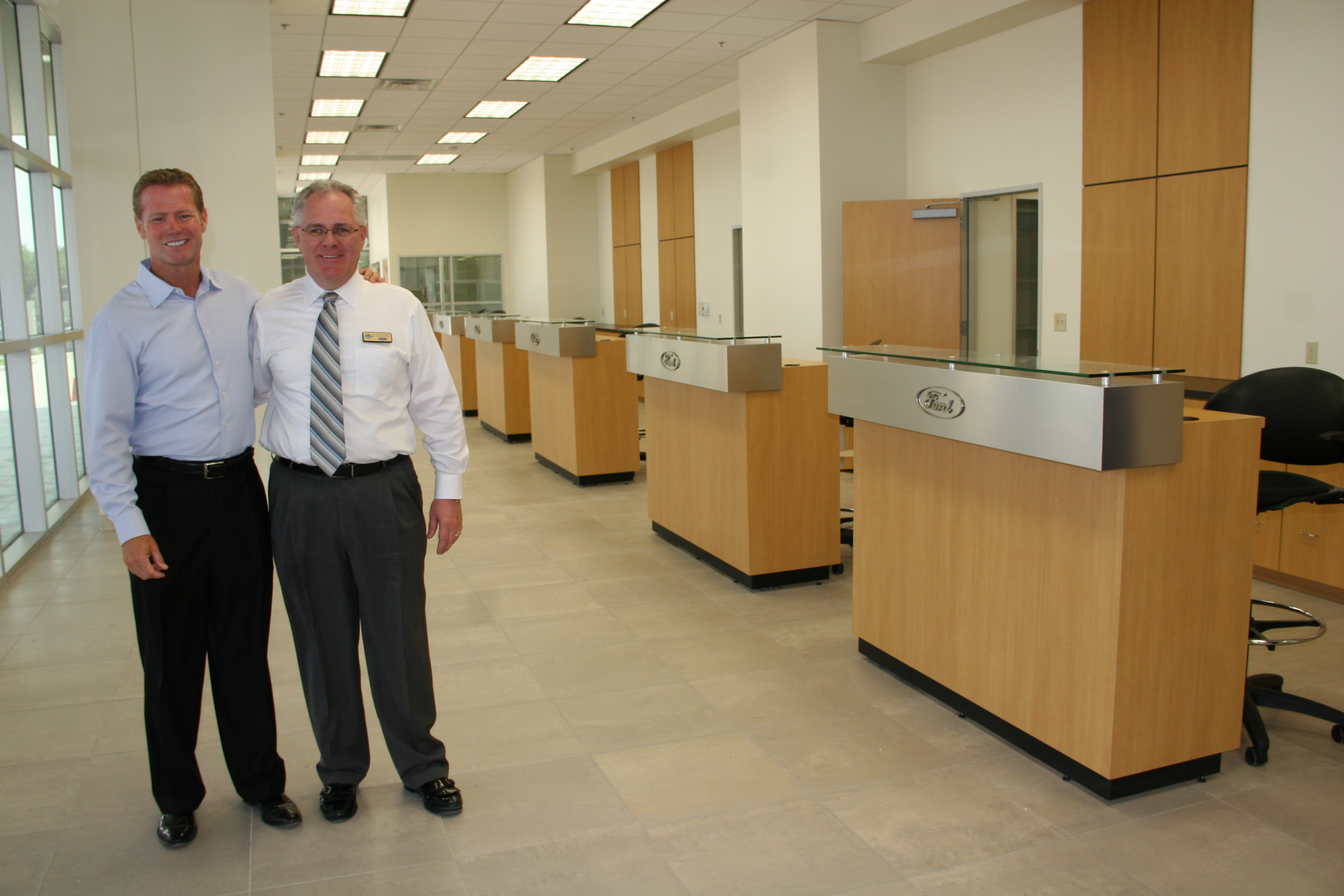 Planet Ford in Humble Reveals Showroom Renovations ...