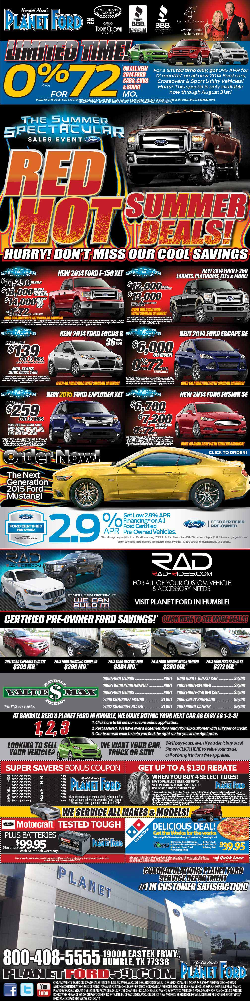 Planet Ford 59 - Humble Ford Dealer serving Kingwood ...