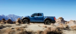 2017 Ford F-150 Raptor is as smart as it is tough and capable.