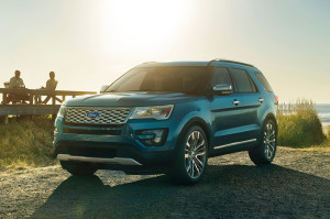 2016 Explorer Platinum