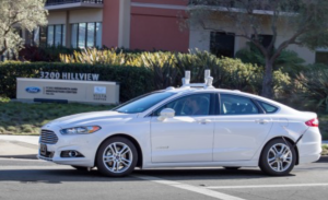 Ford Fusion Hybrid rolls out as automaker begins autonomous testing in 2016