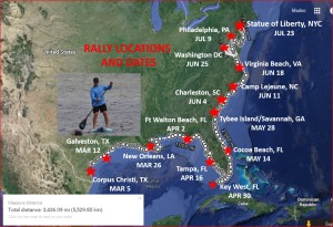 SUP ROUTE AND RALLY DATES