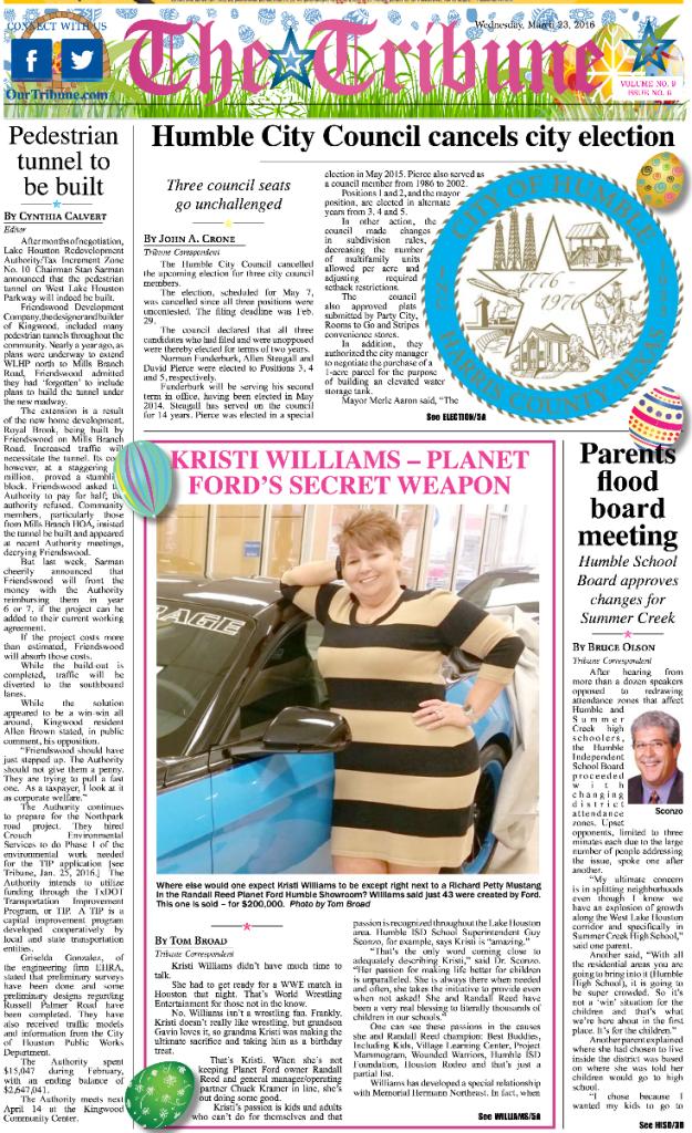 Kristi Williams community humble