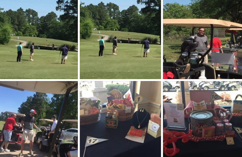 village center golf tournament