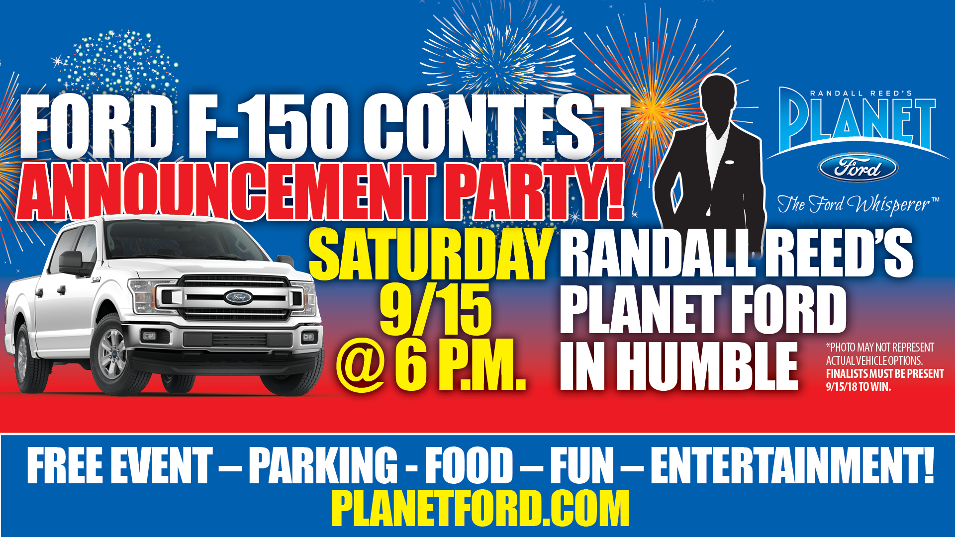 Planet Ford 59 >> You Re Invited Come Celebrate At Planet Ford In Humbleplanet Ford 59