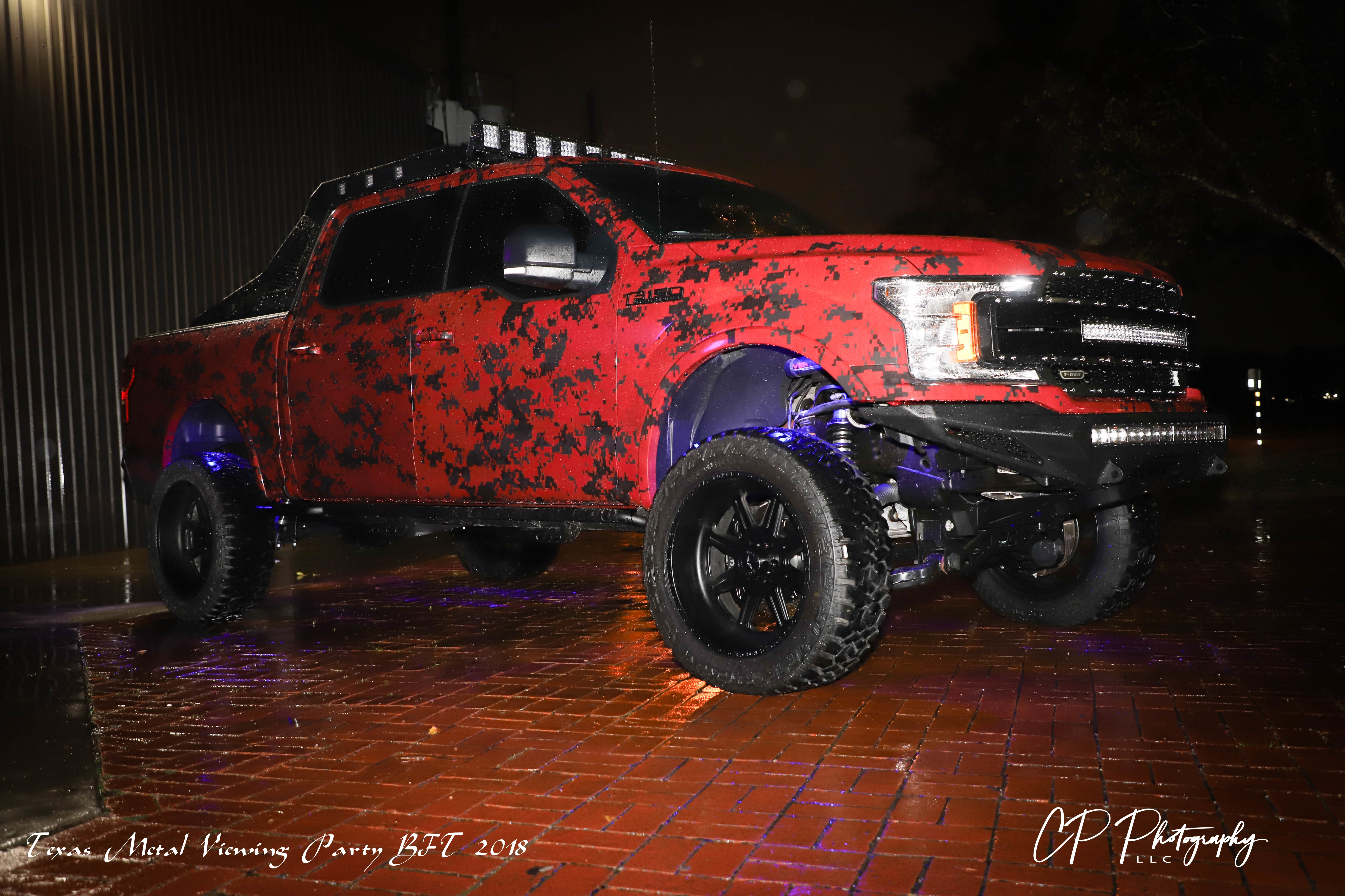 Planet Ford S Ekstensive Metal Truck Watch Party